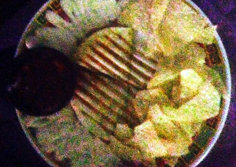 Recipe of Any-night-of-the-week Garlic Shrimp Alfredo Quesadilla