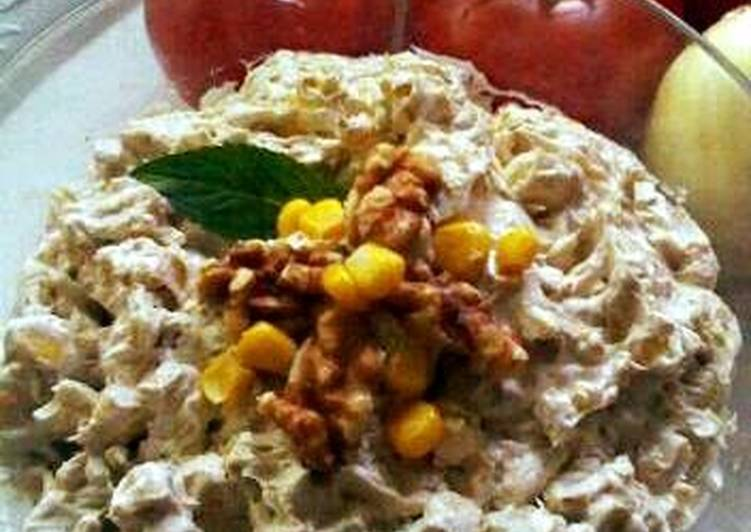 Toasted Walnut and Corn Dip