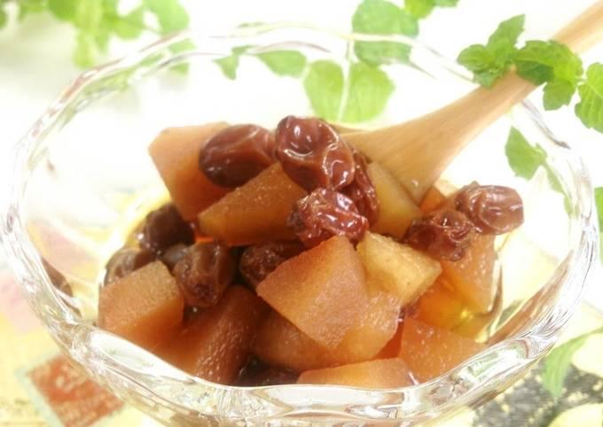 Fruit Preserved in Brandy/Rum