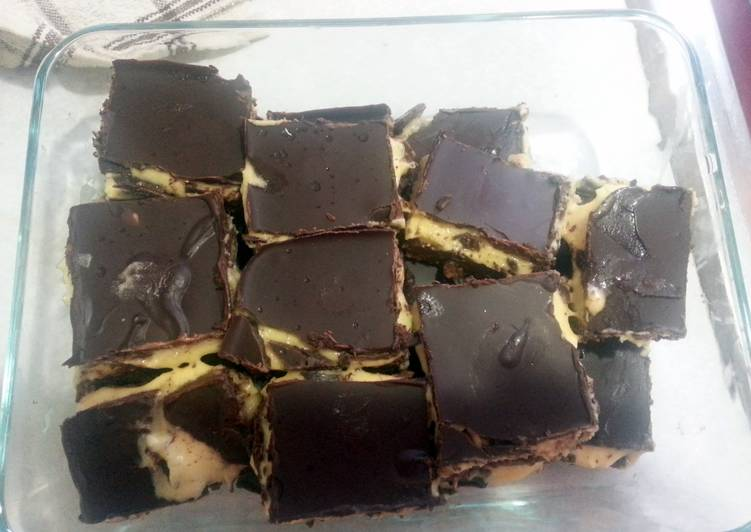 MINT CHOCOLATE NANAIMO BARS. NUT & DYE FREE