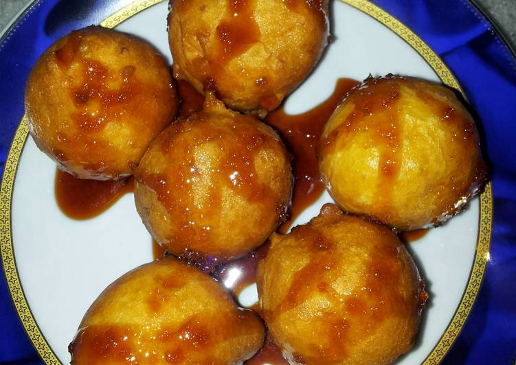 Luqaimat Famous Arabic Dessert by Pam(my version)...