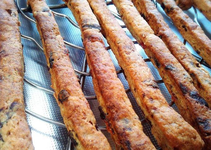 Macrobiotic Kinako and Dried Persimmon Crispy Snack Sticks