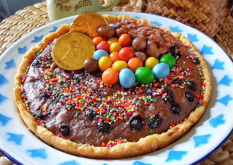 Resep Pie Brownies Teflon Paling Mudah