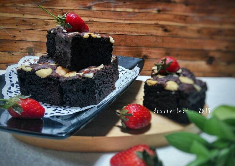 Chewy Fudgy Brownies