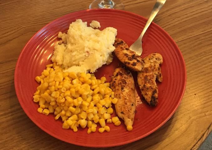 Grilled Adobo & Garlic Chicken