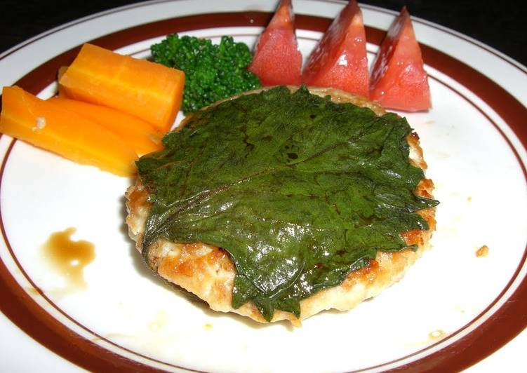 The Meals You Select To Consume Will Certainly Effect Your Health Chicken Tofu Hamburger Patties With Shiso and Garlic