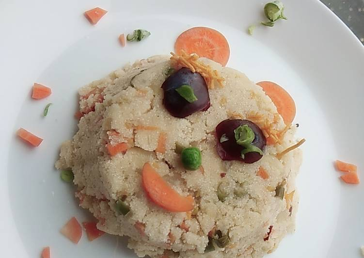 Rava upma healthy and tasty
