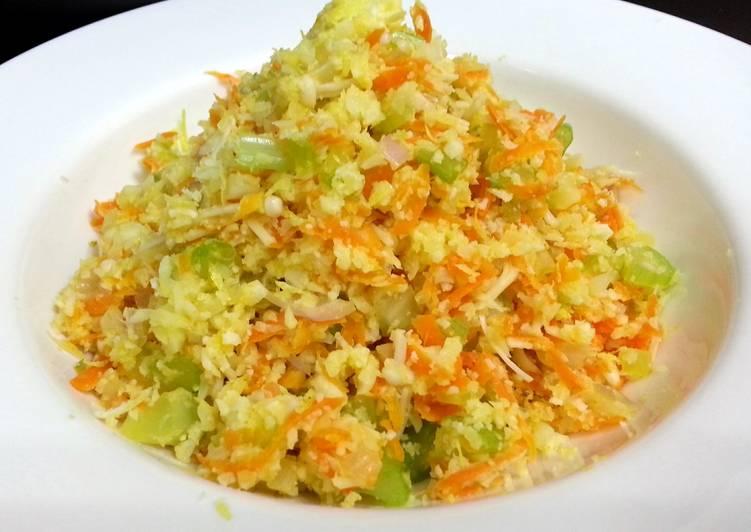 "Cauliflower ""Couscous"" (Vegan)"