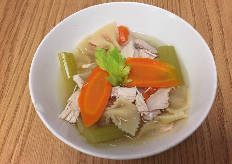 Classic Chicken And Noodle Soup