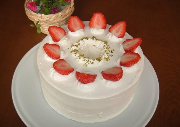 Chiffon Cake Decoration