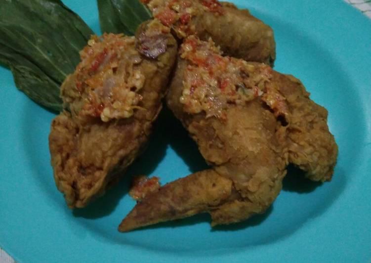 Ayam Geprek ala mom's Kian