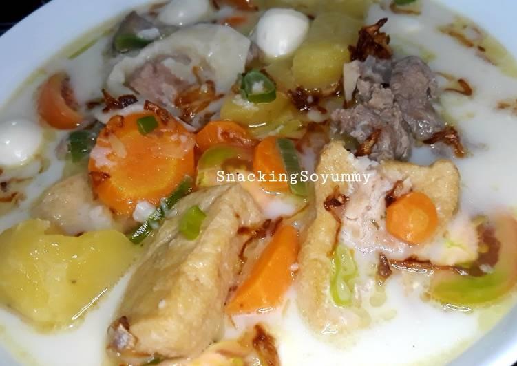 Langkah Mudah Untuk Membuat Resep Sop Daging Babi Non Halal Anti Gagal