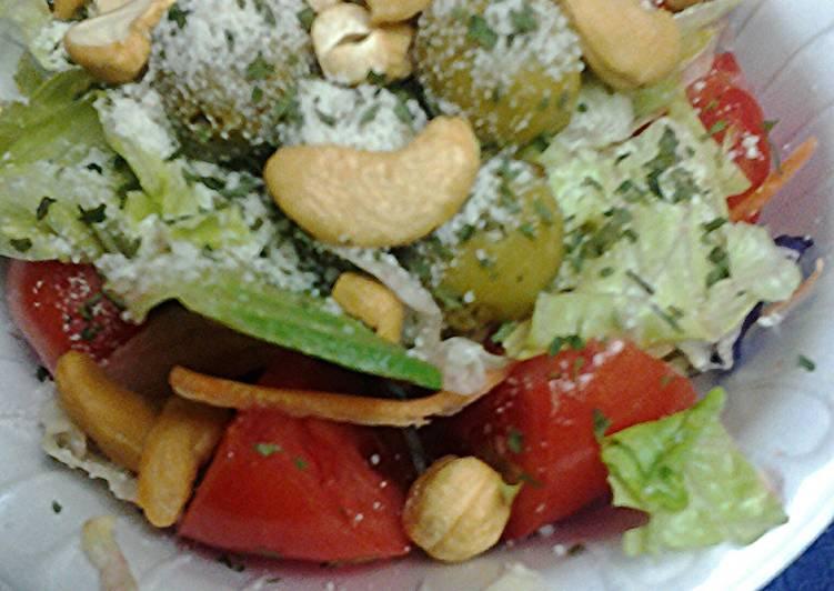 Salad, natural