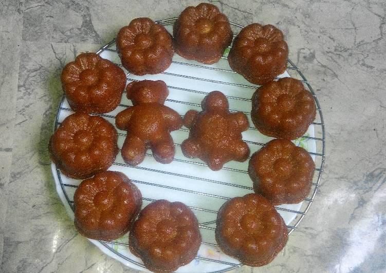 Cara Gampang Menyiapkan Bolu Sakura Singkong&Selai Nanas No Telur No Margarin No Minyak yang Enak