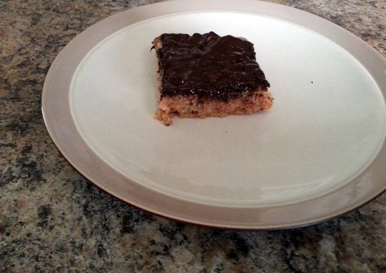 Gluten Free Peanut Butter Rice Krispie Treats