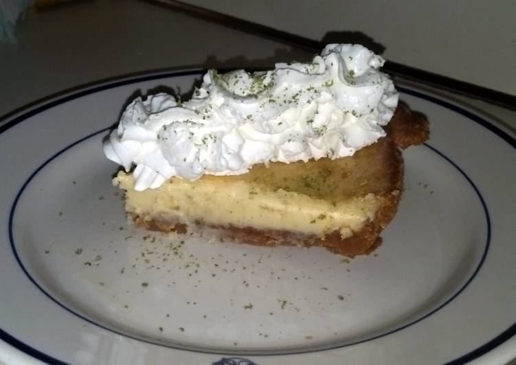 Key lime pie  From Eagle Brand