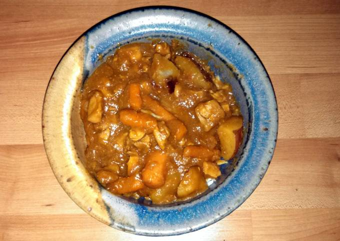 Recipe: Appetizing Japanese Curry Chicken