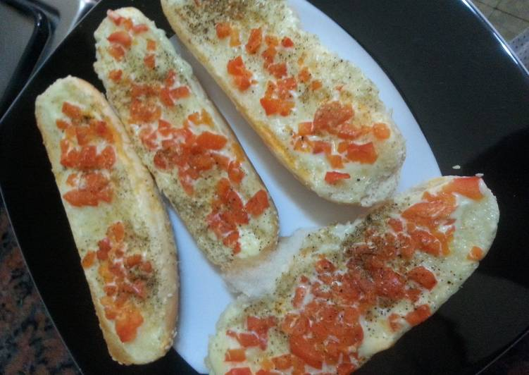 Recipe: Perfect Cheese boats – poor man's snack!