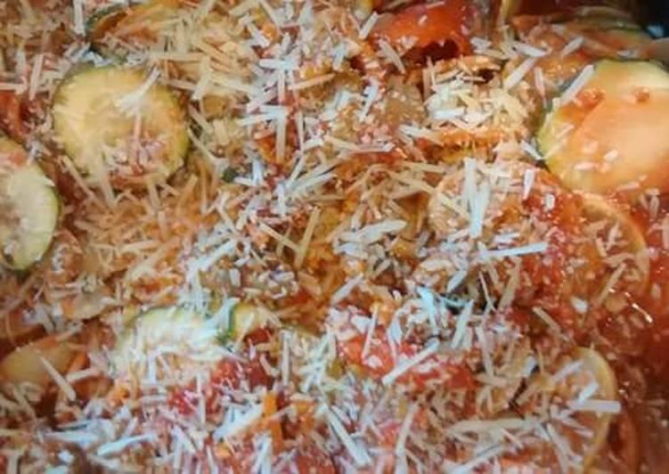 Extreme Veggie Spaghetti Sauce