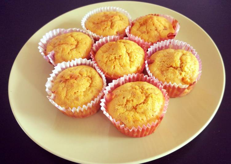 Steps to Prepare Ultimate Carrot Walnut Muffins