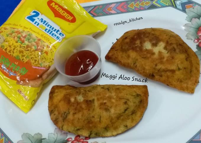 Maggi Aloo Snack