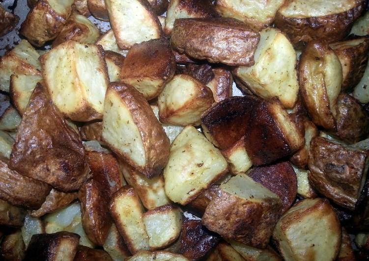 Spicy oven Potatoes!!!!!!!