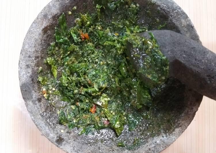 Resep Masakan Sambel Dong So Daun Melinjo Lezat