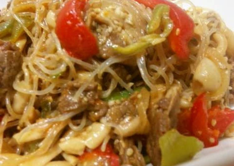 Our Delicious Korean-style Japchae, Some Foods That Help Your Heart