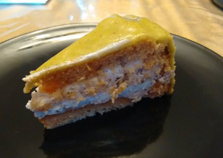 Recipe of Award-winning Cassata Siciliana (without eggs)