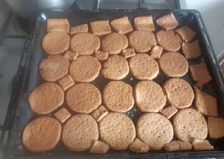 Steps to Make Speedy Digestive biscuits