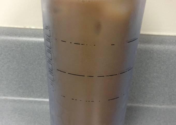 Recipe: Perfect Poor Man's Iced Coffee