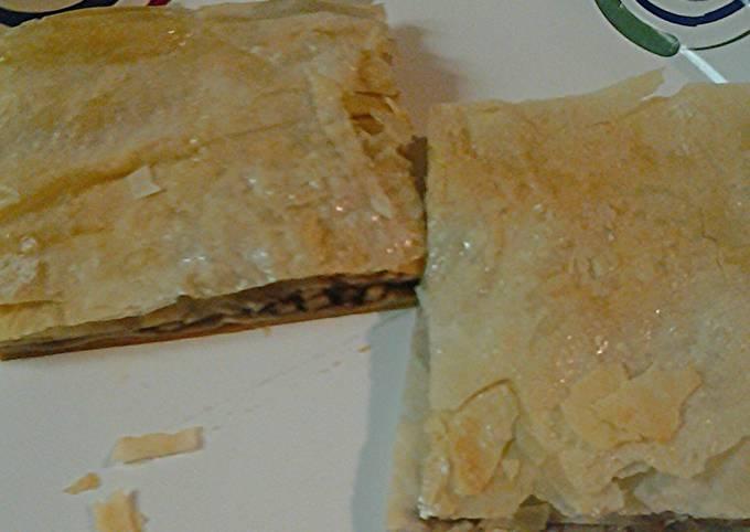 Steps to Make Homemade Phyllo dessert