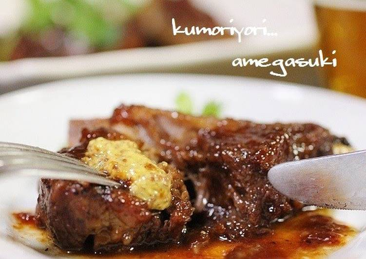 How to Make Speedy Simple Tender Spare Ribs