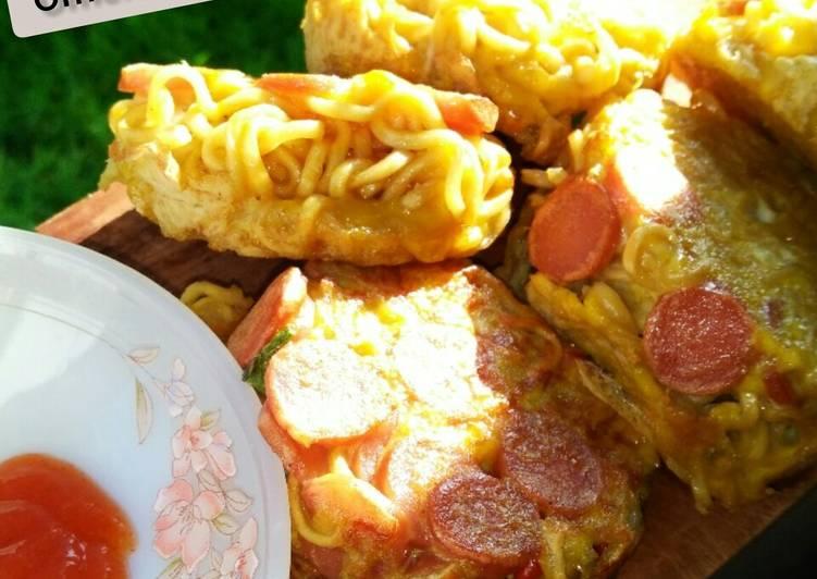12. Omelet Mie Telur