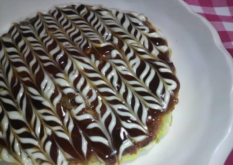 Steps to Make Any-night-of-the-week Fluffy Light Okonomiyaki