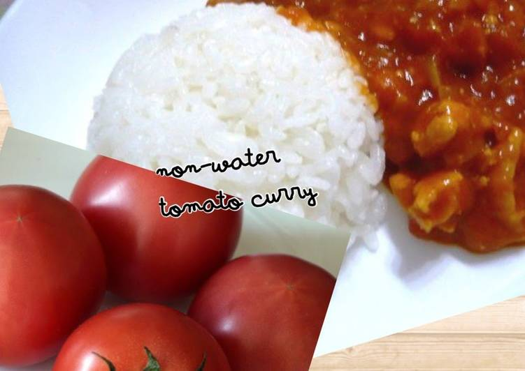 Use Up Your Tomatoes in Tomato Curry without Water