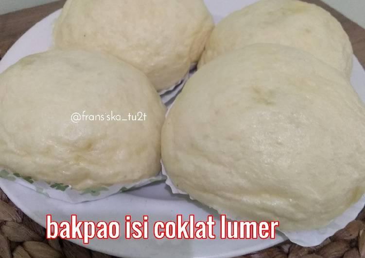 Resep Bakpao isi coklat lumer.. Anti Gagal