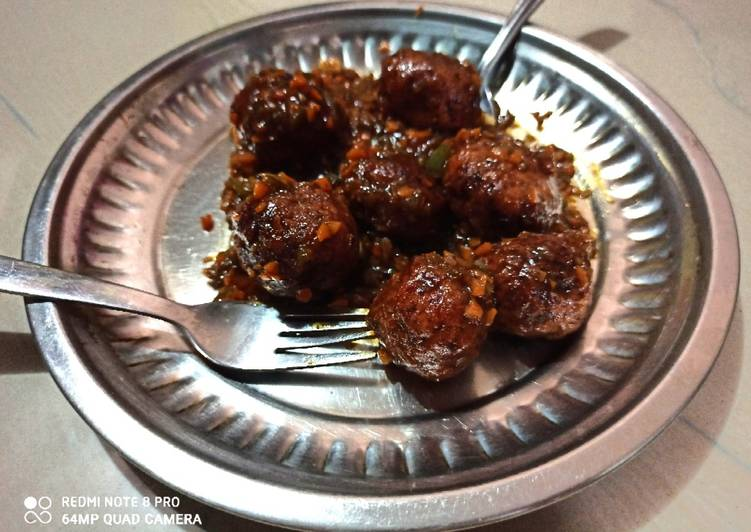Your Health Can Be Affected By The Foods You Decide To Consume Dry manchurian