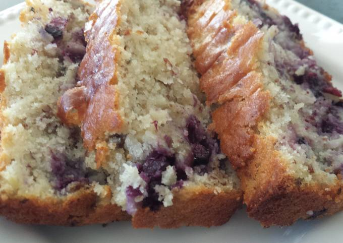 Easiest Way to Make Perfect Blueberry quick bread