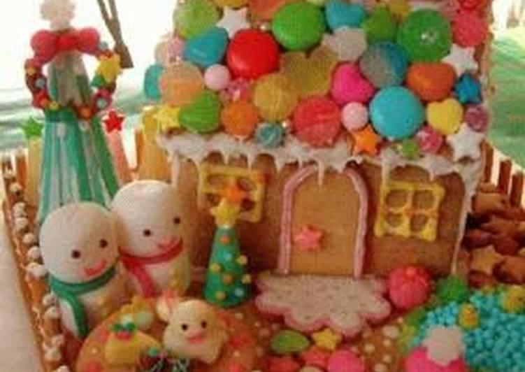 Steps to Make Most Popular Candy House - Colorful Version