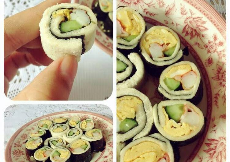 New Secret Easy Sushi Bread Roll Free Download