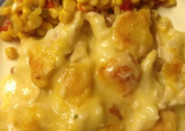 Easy Chicken Dumpling Casserole