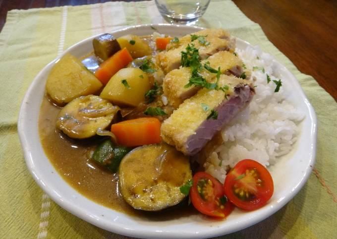 Tuna Katsu(cutlet) Curry