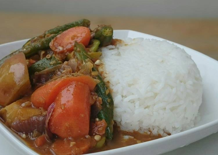 How to Prepare Tasty Vegetarian Japanese Curry Rice