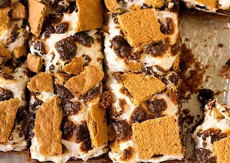 Easy S'more Brownie Bars