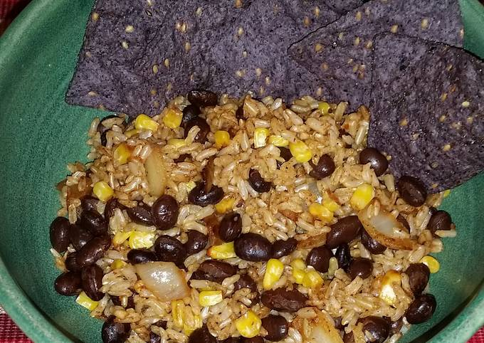 Burrito bowl - vegan