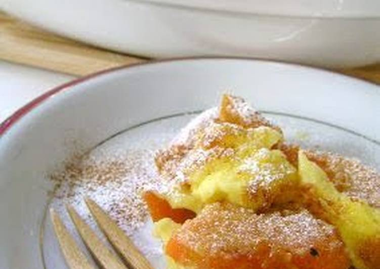 Easiest Way to Make Super Quick Homemade Persimmon Clafoutis