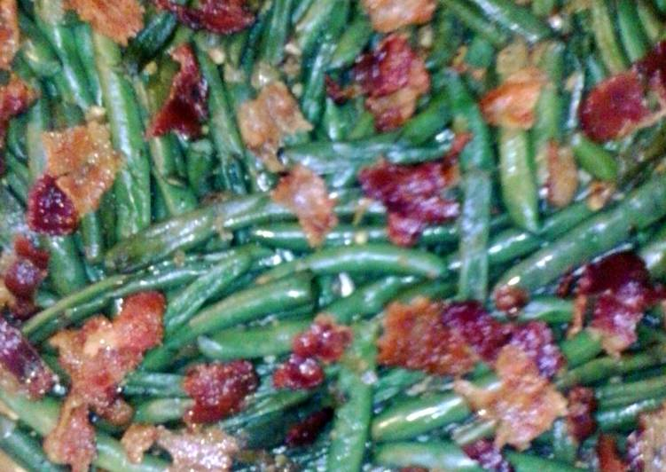 Green Beans with Bacon & Onions