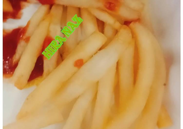 Quick and Easy Recipe: Appetizing Crispy French Fries