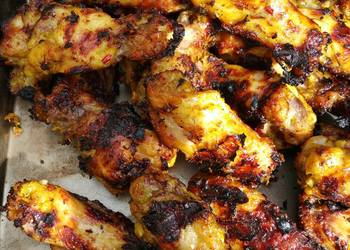 Easiest Way to Cook Tasty Grilled Lemongrass Chicken Wings